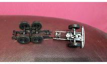 Мосты с колесами ЗИЛ-131 в сборе ( рама в подарок ), запчасти для масштабных моделей, scale43, КрАЗ