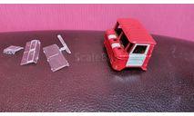 кабина ГАЗ-66 пожарная охрана, запчасти для масштабных моделей, AVD Models, scale43