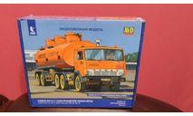 КАМАЗ-54112 с полуприцепом НЕФАЗ-96742, сборная модель автомобиля, AVD Models, scale43
