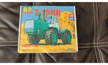 Трактор Т-150К, сборная модель автомобиля, AVD Models, scale43