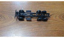 рама ЗИЛ-157 в сборе с колесами, журнальная серия масштабных моделей, scale43