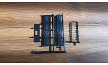 Борты кузова с крючками ЗИС-151, запчасти для масштабных моделей, scale43