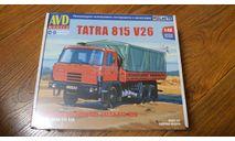 TATRA 815 V26, сборная модель (другое), AVD Models, 1:43, 1/43