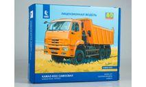 КАМАЗ-6522 самосвал, сборная модель автомобиля, AVD Models, scale43