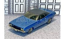 №15Q Zaugg-Modell 1/43 Dodge Challenger Hard Top 1970 blue met., масштабная модель, scale43