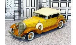 WMS 37 Western Models 1/43 Chrysler Imperial Custom Eigth Conv.Top Up 1933 brown/beige