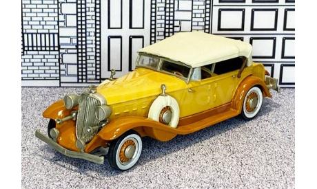 WMS 37 Western Models 1/43 Chrysler Imperial Custom Eigth Conv.Top Up 1933 brown/beige, масштабная модель, scale43