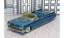 WMS 061X Western models 1/43 Cadillac Eldorado Seville Conv.Top Down 1960 green met., масштабная модель, scale43