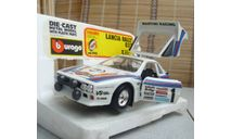 0195 BBurago 1/24 Lancia Rally 037(Made in Italy), масштабная модель, 1:24