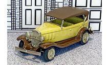 № 004 Ashton Models 1/43 Chevrolet Phaeton Top Up 1932 beige/brown, масштабная модель, scale43