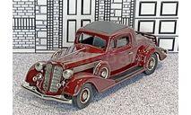 BC 001 Brooklin 1/43 Buick 96-S Coupe Hard Top 1935 cherry, масштабная модель, scale43