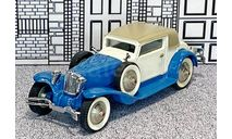 № 7001 Frobly 1/43 Cord L29 Coupe Karrosserie Weymann Hard Top 1930 blue/white/beige, масштабная модель, scale43