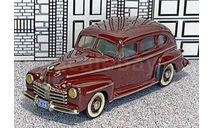 WMS 077 Western  Models 1/43 Ford 4-door Sedan Hard Top 1946 brown, масштабная модель, Western Models, scale43
