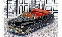 № 5030 Skyline Models 1/43 Ford Mercury Conv.Top Down 1950 black, масштабная модель, scale43