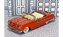 № 5-Sample Goldvarg Collection 1/43 Pontiac Star Chief Conv.Top Down 1955 red
