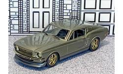 HR 005 Brooklin 1/43 Ford Mustang 'Pro-Touring' Hard Top 1967 grey met.