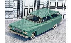 AA 25G Milestone 1/43 Chrysler Newport Station Wagon 1963 green met.