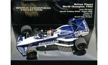 436830005 Minichamps 1/43 Brabham BT52B Nelson Piquet World Champion 1983, масштабная модель, scale43