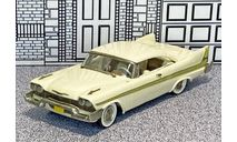 WMS 050 Western  Models 1/43 Plymouth Fury Coupe Hard Top 1958 white, масштабная модель, Western Models, scale43