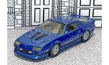 WP 112 Western  models 1/43 Chevrolet Camaro Z28 IROC-Z Hard Top 1985 blue met., масштабная модель, Western Models, scale43