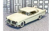 № 027 Precision Miniatures 1/43 Chrysler 300B Hard Top 1956 white, масштабная модель, scale43