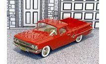 DS-7 Design Studio 1/43 Chevrolet El Camino Pick-Up 1960 red, масштабная модель, scale43