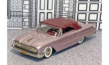 BRK 037 Brooklin 1/43 Ford Sunliner Conv.Top Up 1960 lilac, масштабная модель, scale43
