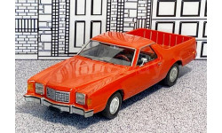 KM 001 Krivosheev Miniatures 1/43 Ford Ranchero Pick-Up 1977 red