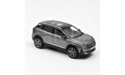 473921 Norev 1/43 PEUGEOT 3008 GT (кроссовер) 2020 Platinium Grey