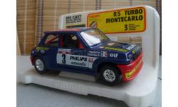 0160 BBurago 1/24 Renault 5 Turbo Monte-Carlo(Made in Italy), масштабная модель, 1:24