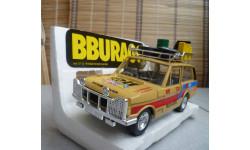 0112 BBurago 1/24 Range Rover Safari (диффект заднего стекла)(Made in Italy), масштабная модель, 1:24