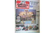 Collectors Gazette, Декабрь89, стр.48, Газета  для коллекционеров, Англия, литература по моделизму