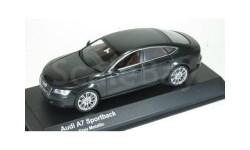 3821GR Kyosho 1/43 Audi A7 Oolong Grey Metallic
