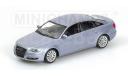 400013000 Minichamps 1/43 Audi A6 2004 Silver, масштабная модель, 1:43