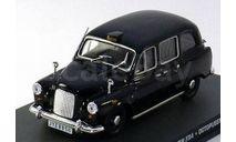 JB114 James Bond Car Collection 1/43 AUSTIN FX4 'Octopussy' 1970 Black, масштабная модель, 1:43