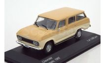 WB094 Whitebox 1/43 CHEVROLET Veraneio 4х4 1965 Beige/Light Beige, масштабная модель, 1:43