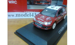 155418 Norev 1/43 Citroen C4 WRC #1 Loeb/Elena Rally Winner Rally Monte Carlo 2008, масштабная модель, 1:43, Citroën