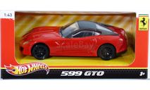 X5535 Hot Wheels 1/43 2010 Ferrari 599 GTO *Heritage series*, red, масштабная модель, scale43