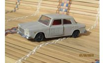 Lancia Flavia(пластик)серый, масштабная модель, ДФИ(Донецк), 1:43, 1/43
