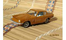 Maserati Mistral Coupe(металл)коричневый, масштабная модель, Москва, 1:43, 1/43