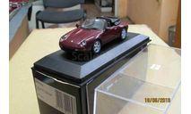 430 063034 Minichamps 1/43 Porsche 911 cabriolet 1994 arena red, масштабная модель, scale43