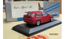 430 082104 Minichamps 1/43 Ford Escort Cosworth red, масштабная модель, scale43