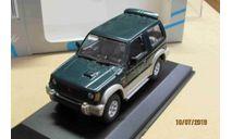 430 163371 Minichamps 1/43 Mitsubishi Pajero SWB 1994 green, масштабная модель, scale43