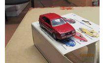 1018 Schabak 1/43 VW Сorrado red, масштабная модель, scale43, Volkswagen