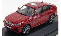 80422348789 Paragon 1/43 BMW X4 - red, масштабная модель, scale43