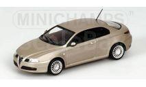 400120325  Minichamps 1/43 Alfa Romeo GT 2003 Champagne Metallic, масштабная модель, scale43