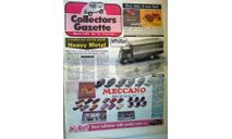 Collectors Gazette, Март1989,, литература по моделизму