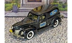 BRK 009 Brooklin 1/43 Ford Sedan Delivery Van 'Ford' 1940 Black