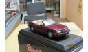ART.231 CDC-Detail cars 1/43 Mercedes Benz 320SL Cabrio бордовый, масштабная модель, Mercedes-Benz, CDC-Detai cars, 1:43