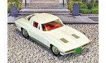 BRK 021 Brooklin 1/43 Chevrolet Corvette Stingray Coupe Hard Top 1963 White, масштабная модель, scale43
